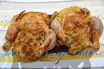 Stuffed Cornish Hens w/ Boudin (2 per pack)