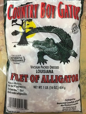 Alligator Fillets (1 lb)