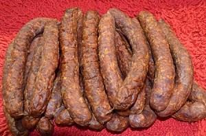 Smoked Buffalo Sausage (5 links)