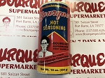 Bourque's Hot Seasoning (16oz)