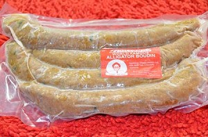 4 Links of Alligator Boudin (1.5 lb approx.)