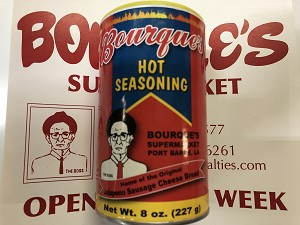 Bourque's Hot Seasoning (8oz)
